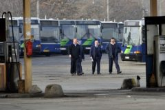 HUNGARY-BUS DRIVERS STRIKE